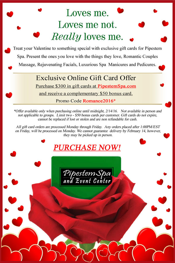 Online Gift Card Offer Valentine S Day Special